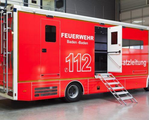 Einsatzleitwagen Feuerwehr Baden-Baden