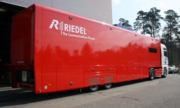 technical trucks Riedel