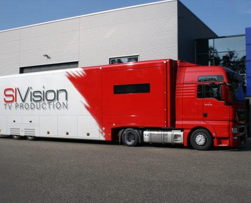 Referenzprojekt SIVision - Übertragungsfahrzeug