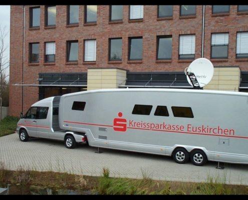 Sparkasse technical trailer