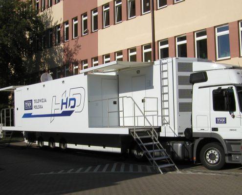 technical trucks TVP Polonia