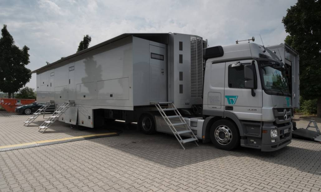 Mobile Technical Units - Übertragungswagen