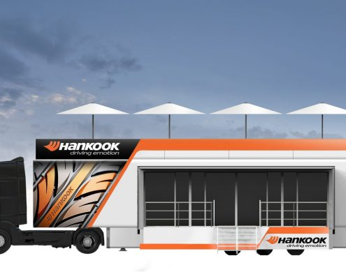 Hankook Promotion truck