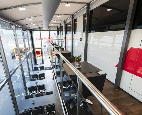 Haas F1 Hospitality - innen