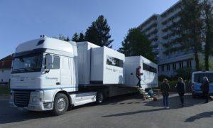 Mobiles Labor Fraunhofer IBMT-Bischoff+Scheck