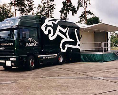 Promotiontrailer Jaguar - built
