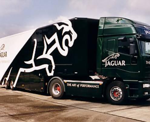 Promotiontrailer Jaguar - exterior view