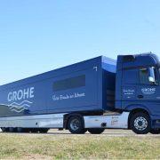 Auslieferung Promotion Fahrzeugflotte GROHE