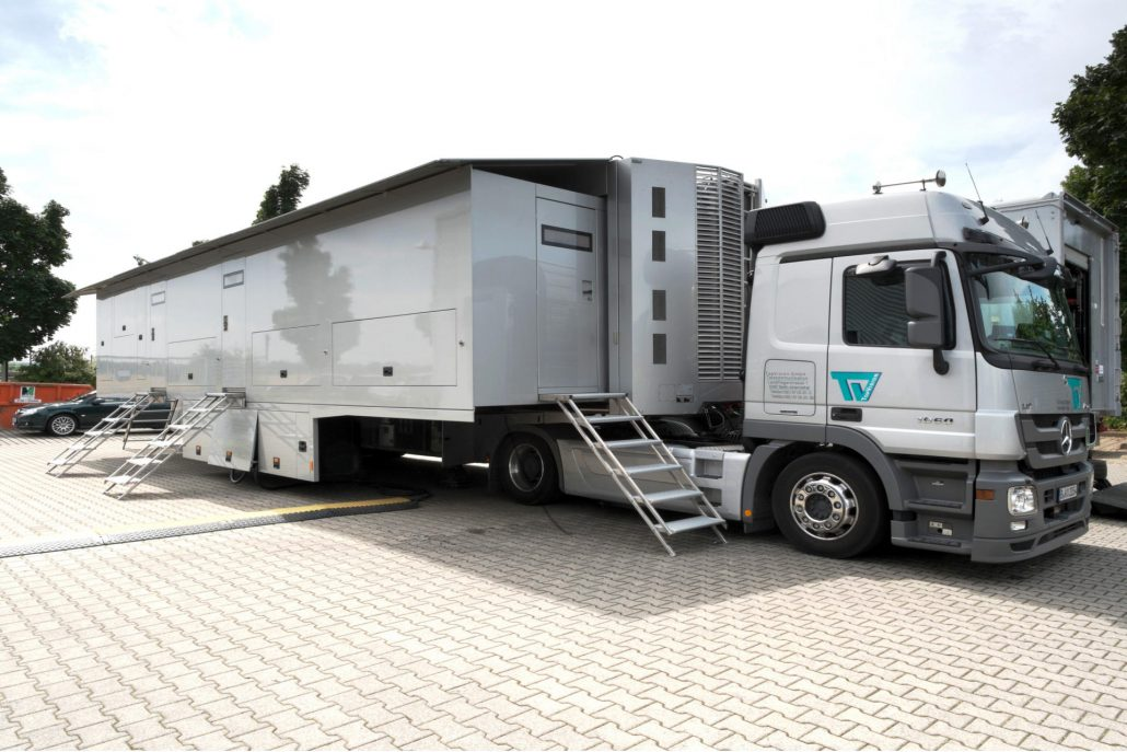 TopVision technical truck